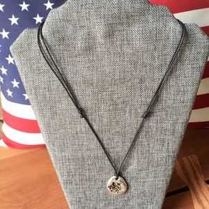 J. Jill adjustable Snowflake necklace